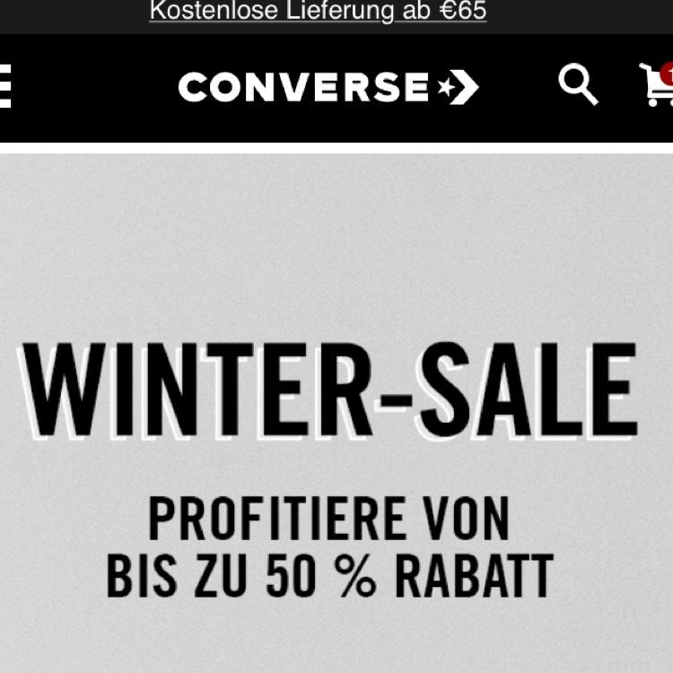 Converse Onlineshop - 15% auf alle Artikel, auch SALE