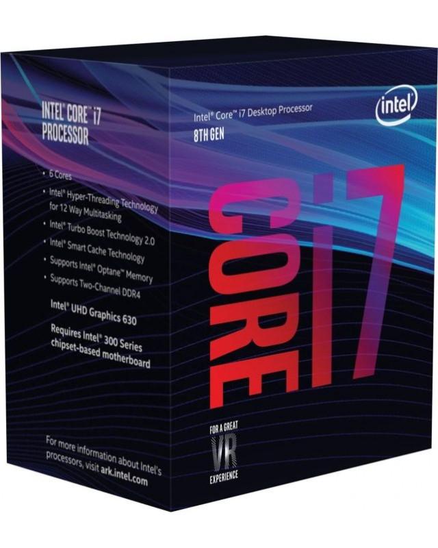 Intel Core i7-8700, 6x 3.20GHz, boxed (BX80684I78700)