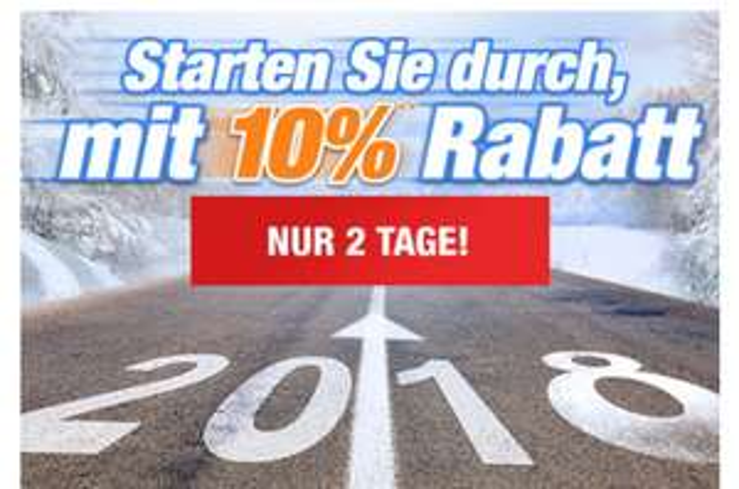 10% Rabatt (auf fast alles) bis zum 08.01.18 [Plus.de]