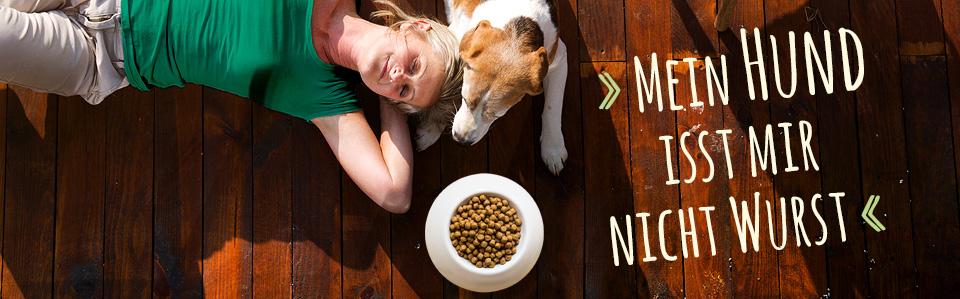 Noch was zum testen für den Hund das etwas andere Hundefutter.