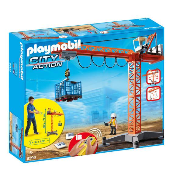 Playmobil City Action - Baukran mit Zubehör (9399) für 43,99€ (Filialabholung 39,99€) [Galeria Kaufhof]