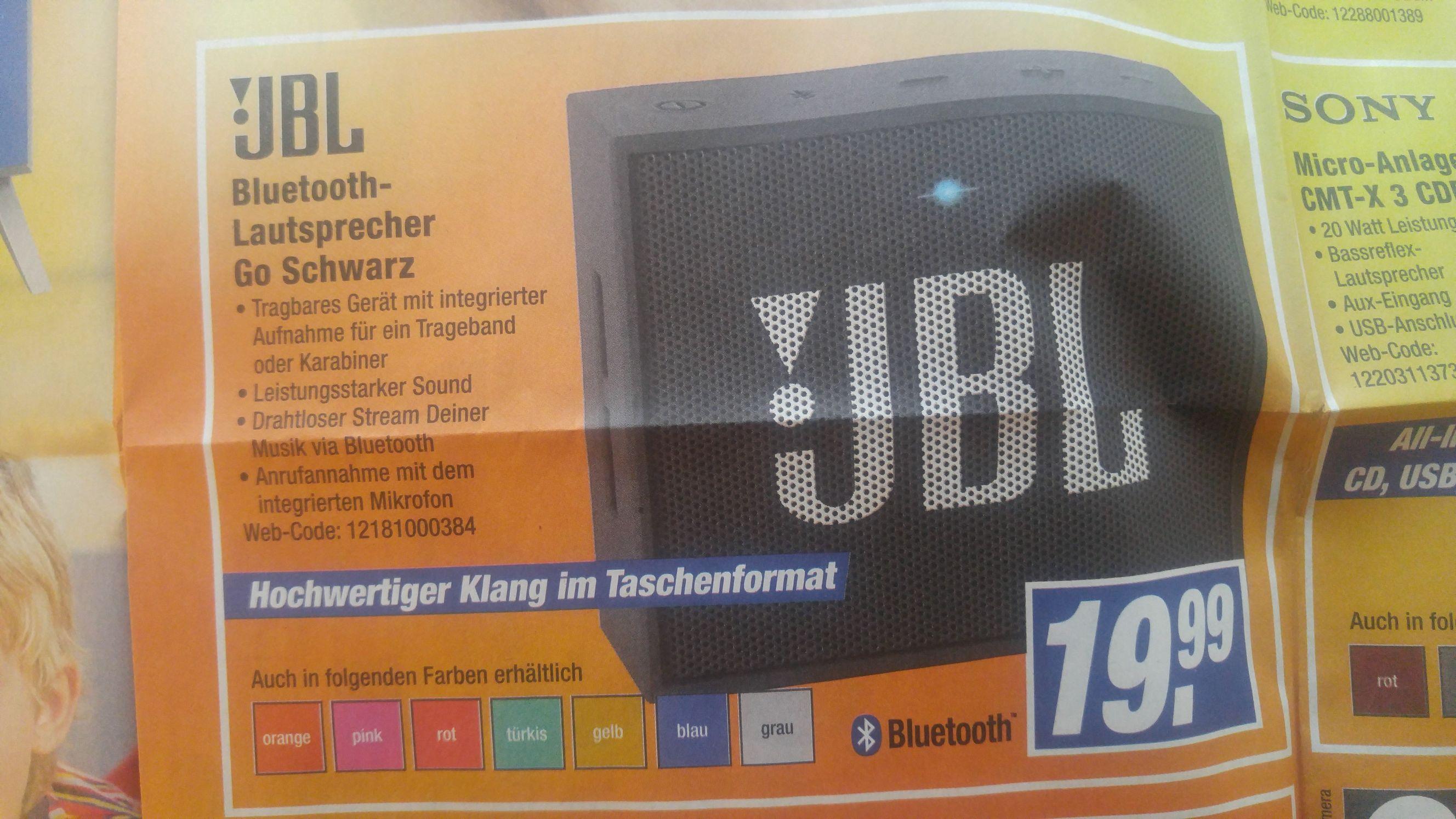 JBL Bluetooth Lautsprecher Go