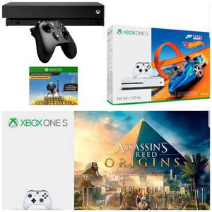xbox one x bundle f r 429 99 und xbox one s bundle ab. Black Bedroom Furniture Sets. Home Design Ideas