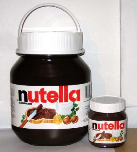 Nur für myDealzer -> Nutella 5 Kg, Mit Henkel ORIGINAL WARE € 33,95/ € 6,79 KILO