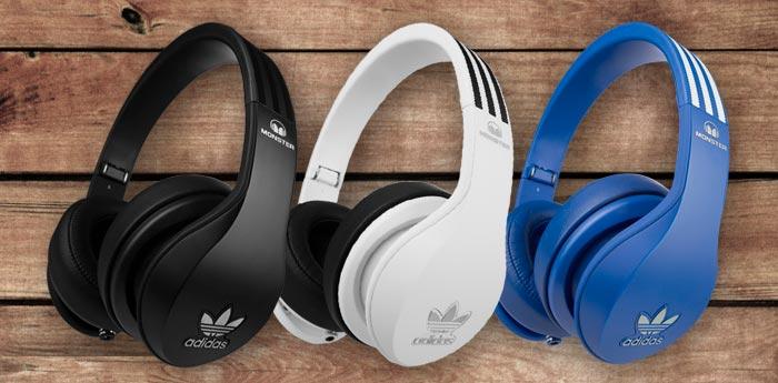 Amazon: Monster Adidas Originals OverEar-Kopfhörer (mit ControlTalk Universal) 39,99 €
