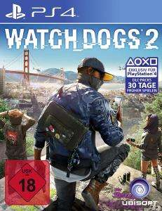 Watch Dogs 2 (PS4 & Xbox One) für je 17,05€ & Watch Dogs 2 Deluxe Edition für je 19,99€ (Ubisoft Store + GameStop)