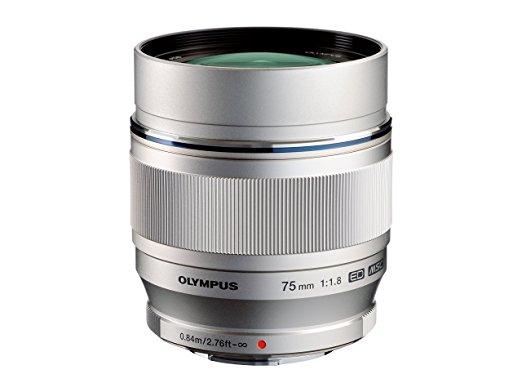 (amazon.it - Bezahlung mit Kreditkarte) Olympus MFT Zuiko 75mm 1.8 ab 625,96 Euro inkl. Versand