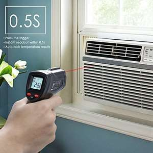 MYCARBON Infrarot Laser Thermometer für berührungslose Temperaturmessungen von -50°C bis +380°C
