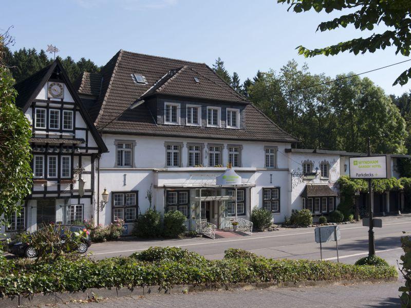 Nostalgisches Hotel im Bergischen Land