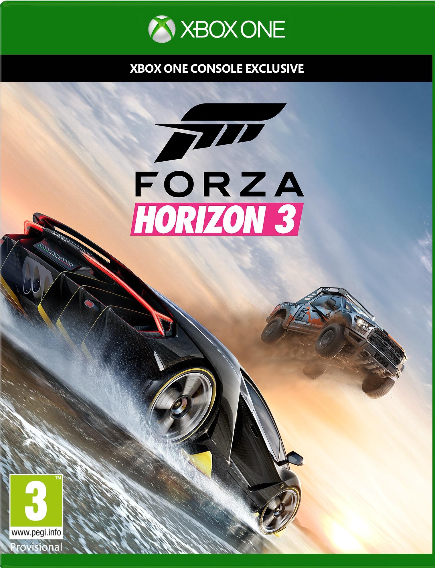 Forza Horizon 3 (Xbox One) für 19,99€ & Halo 5: Guardians (Xbox One) & Forza Horizon 2 für je 14,99€ (MS Store IT)