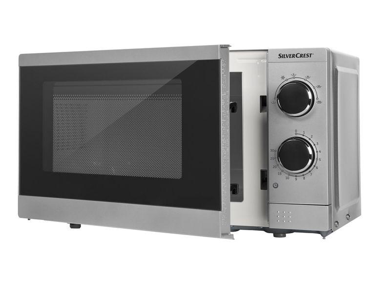 Einfache 700 Watt Mikrowelle Silvercrest MD 18116 für 39,99 € (online ab sofort-offline ab 18.1.) @  Lidl
