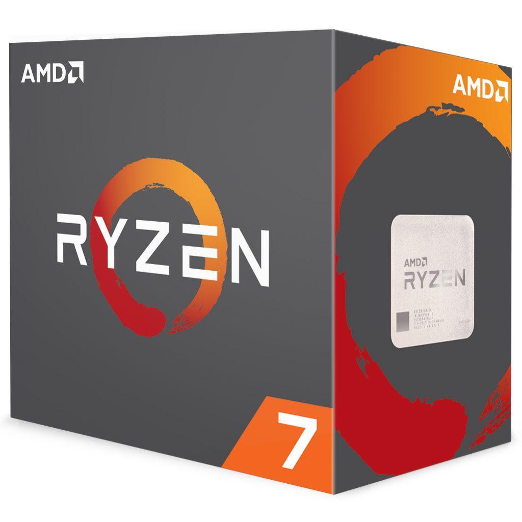 AMD Ryzen 7 1800X Prozessor boxed (ohne Kühler)