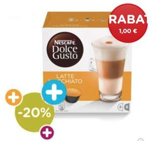 Nescafe Dolce Gusto Kapseln bei 12 Packungen ab 2,74-3,74€/Packung