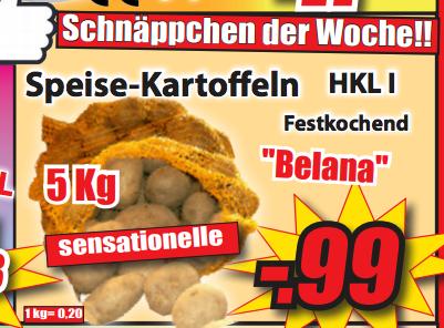 MAGOWSKY - Speise-Kartoffeln 5kg (Festkochend)