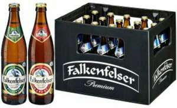 Regional?? Falkenfelser Biere verschiedene Sorten Samstagskracher am 20.01.2018