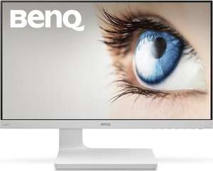 "[electronic4you] BenQ VZ2470H - 23,8 "" Full HD Monitor (HDMI, 4ms, 8bit, Ultra Slim Bezel, AMVA+ Panel, 99% sRGB, 68% Adobe RGB, 60 Hz) in weiß"