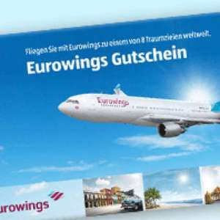 Eurowings Gutschein für Hin-und Rückflug