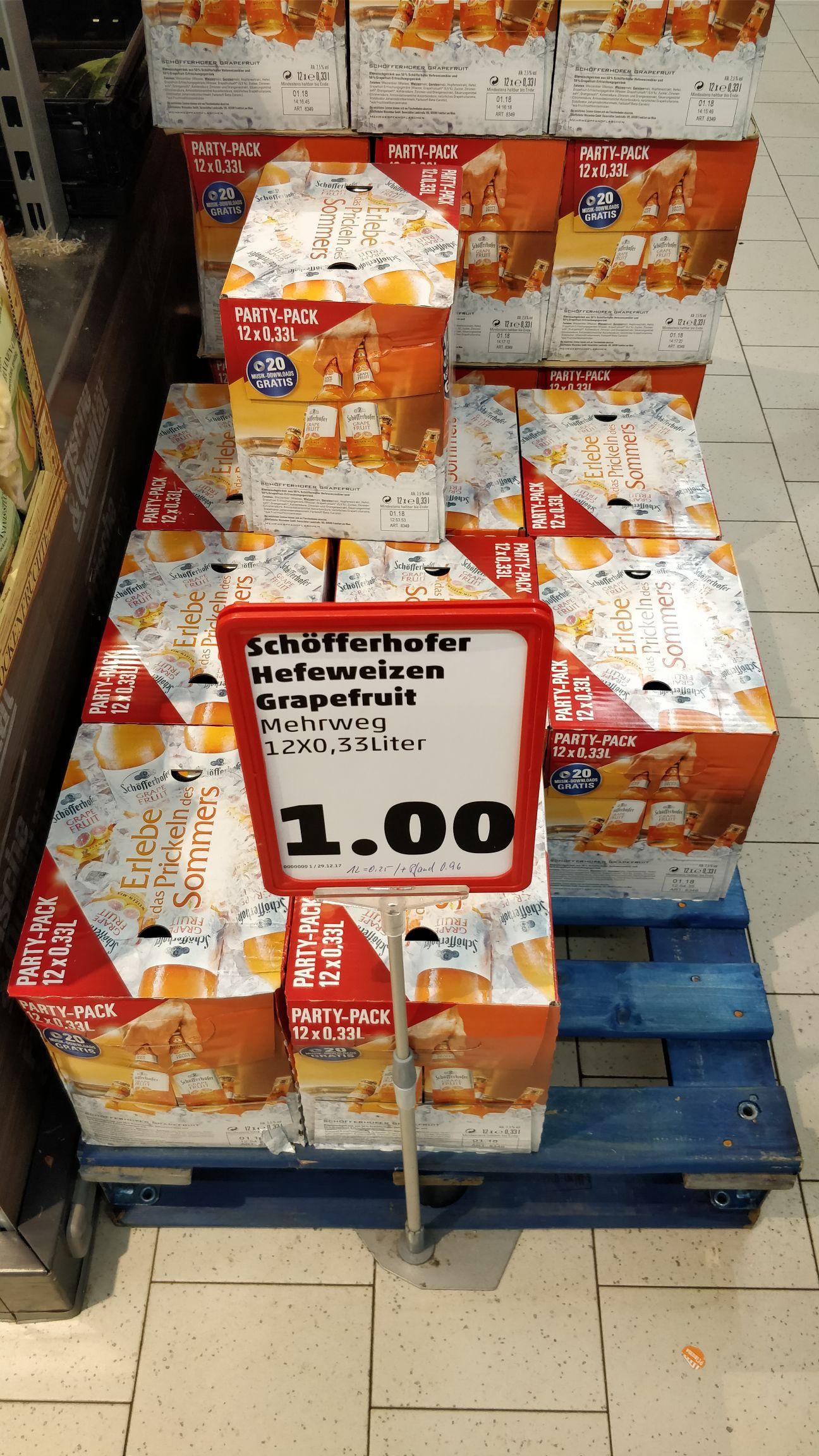 Lokal Regensburg Schöfferhofer Hefeweizen Grapefruit