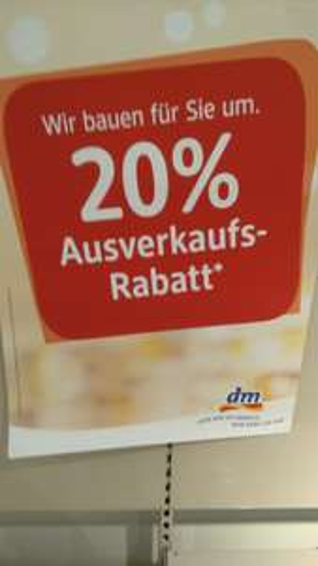 (Lokal Essen Rathausgalerie) dm 20% auf alles