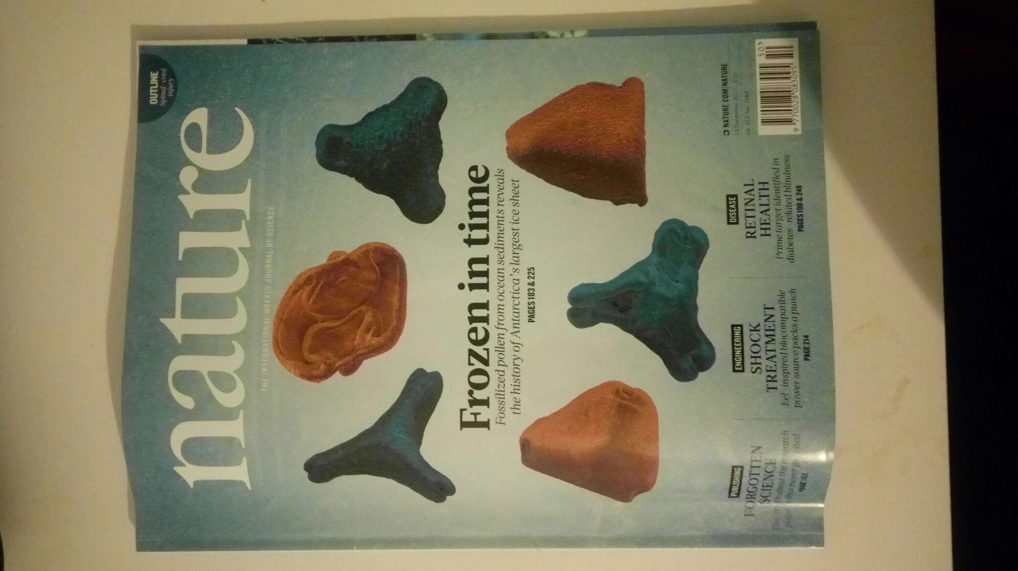 Nature Jahresabo (51 Ausgaben, Print; 1,47 € pro Heft inkl. Versand)