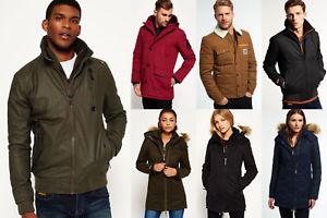 Neue Superdry für Männer und Frauen Jacken Versch. Modelle und Farben