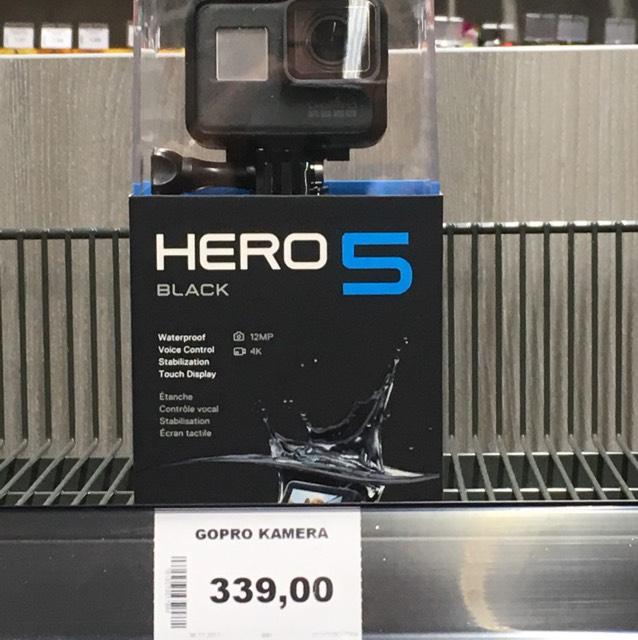 Gopro Hero 5 - Lokal Krumbach bei black.de
