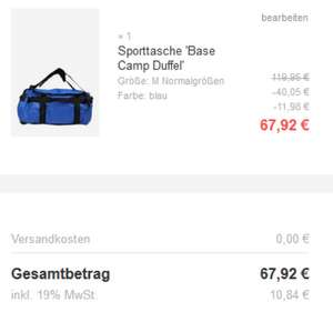 TNF - Sporttasche Base Camp Duffel M [AboutYou]