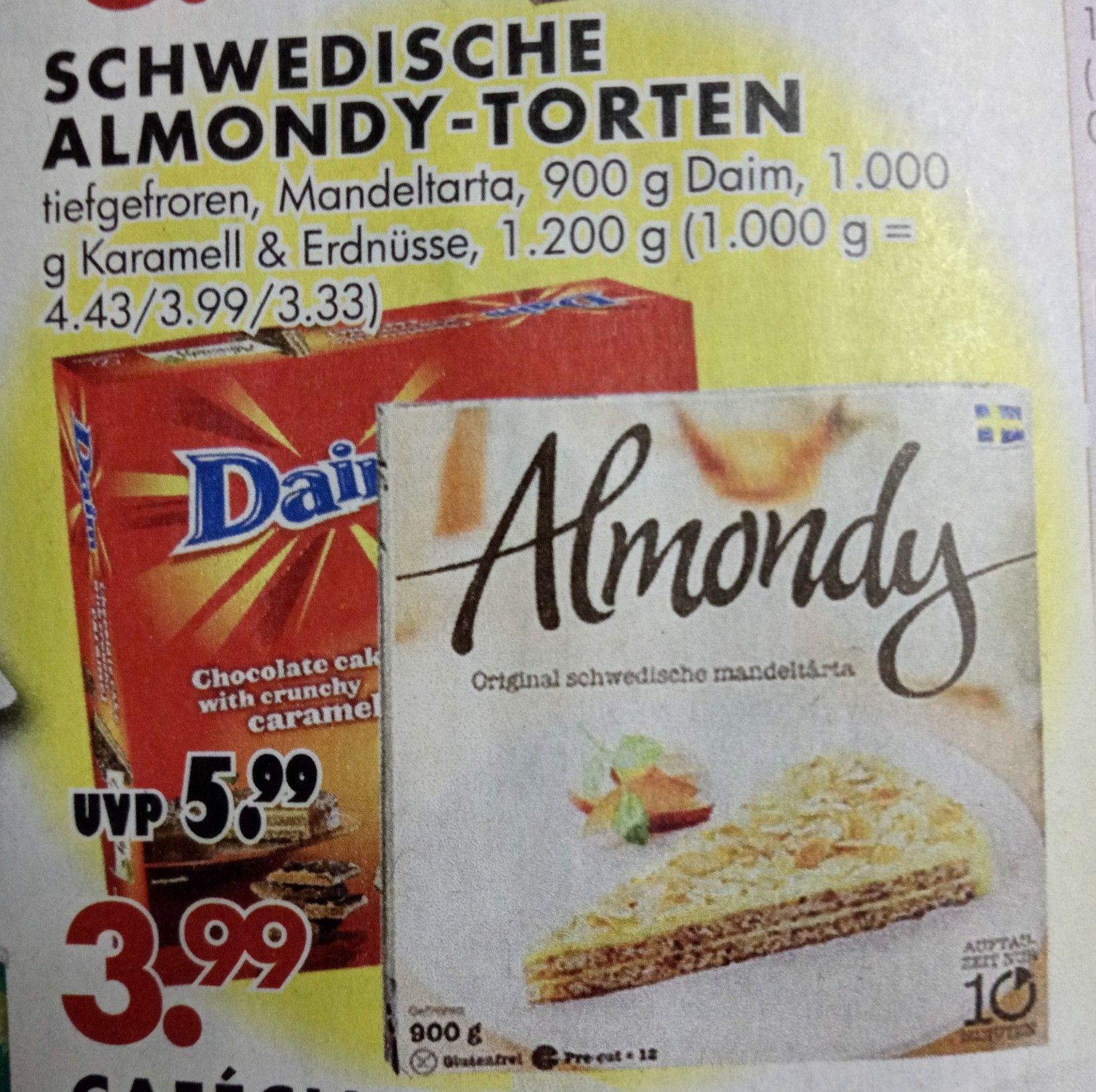 [Jawoll] Große Almondy-Torten (900-1200g)