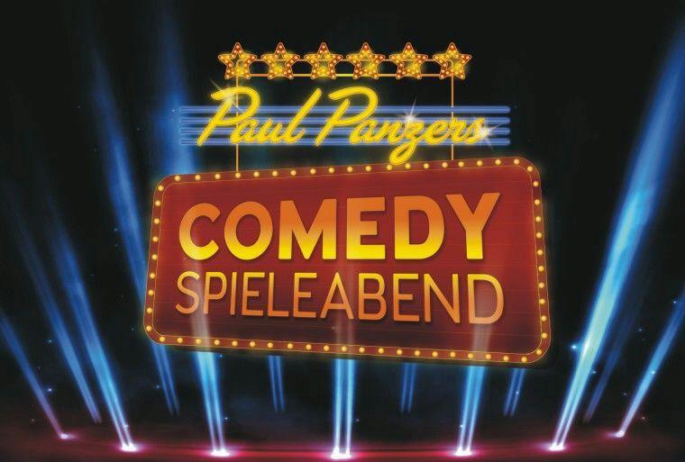 Köln : PAUL PANZERS COMEDY SPIELEABEND in Köln - Freikarten - 23+ 25.1
