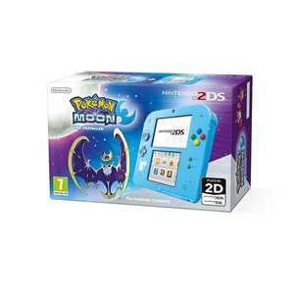Nintendo Handheld Console 2DS mit Pokemon Moon (UK PLUG)
