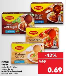 maggi so en 8x f r 3 52 im kaufland vom bis coupon st ckpreis 44 cent. Black Bedroom Furniture Sets. Home Design Ideas