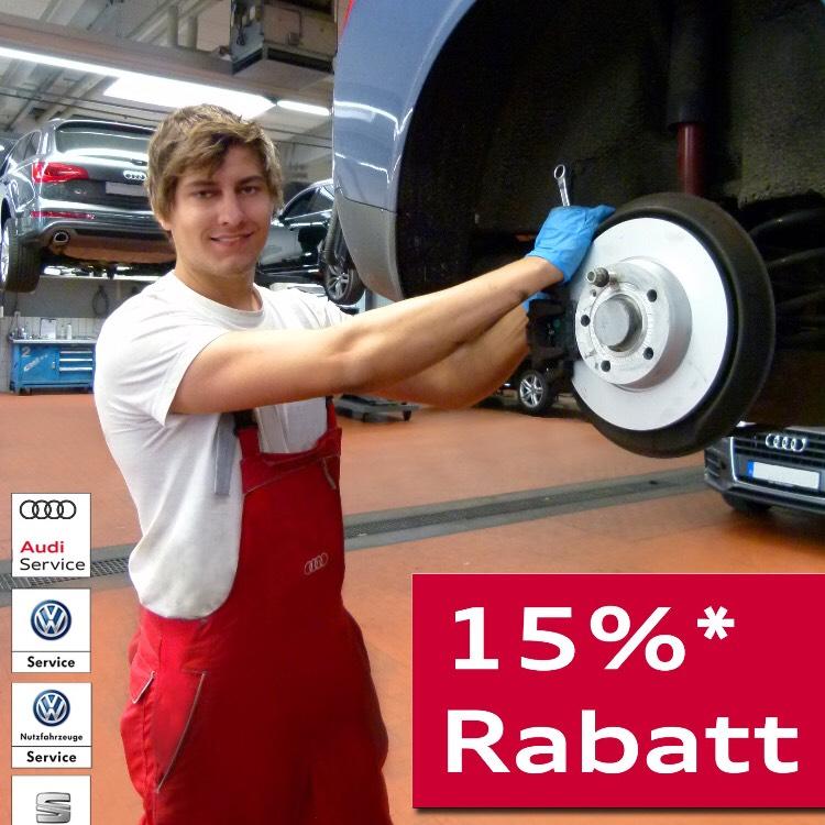 (Lokal Ingolstadt)Audi Zentrum Ingolstadt -> 15% auf Werkstattaufenthalt