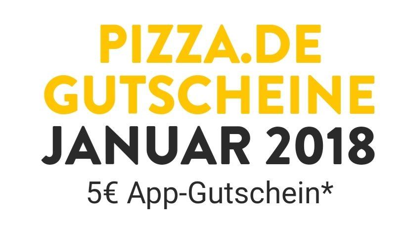 """Pizza.de  5€ Gutschein generieren """"Neukunde"""""""