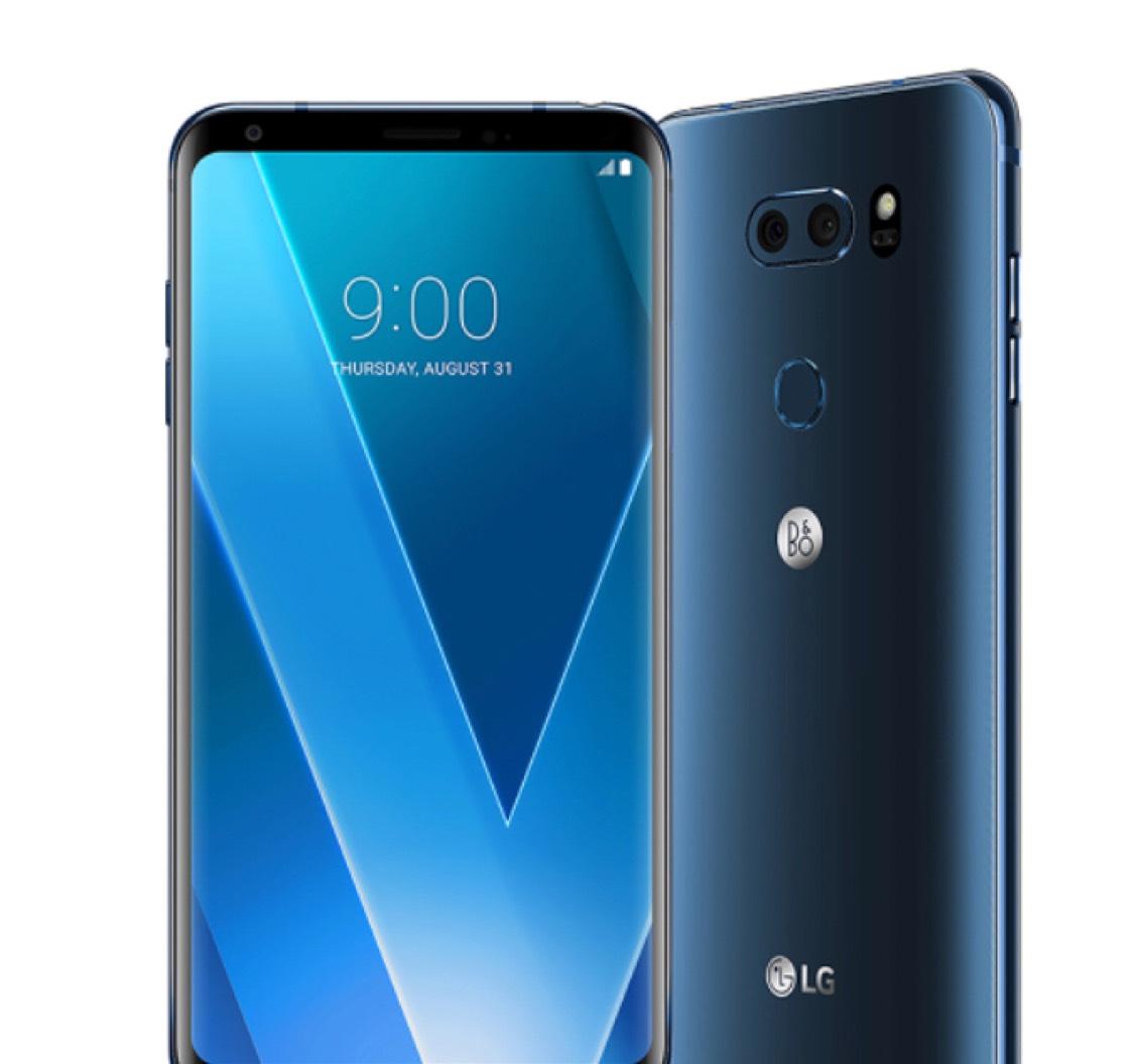 [Schweiz] LG V30 moroccan blue