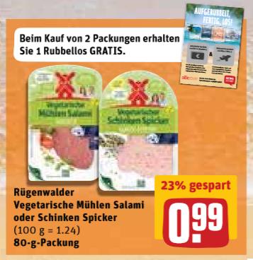 REWE SAMMELDEAL Landliebe, Activia, Müllermilch,Senseo,  Schinkenspicker 0,29€ ab 15.01.2018