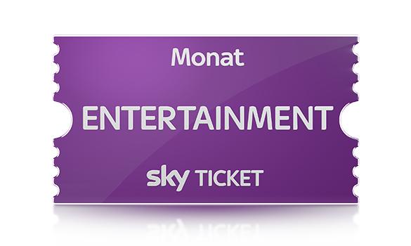 einen Monat Sky Ticket - Entertainment - für nur 1€ testen (anstatt 9,99; monatlich kündbar)
