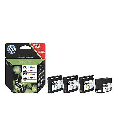 Hewlett-Packard HP Nr. 932XL/933XL Multipack 4-farbig (C2P42AE)