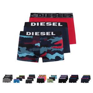 3er Pack Diesel Herren Boxershorts verschiedene Farben S M L XL