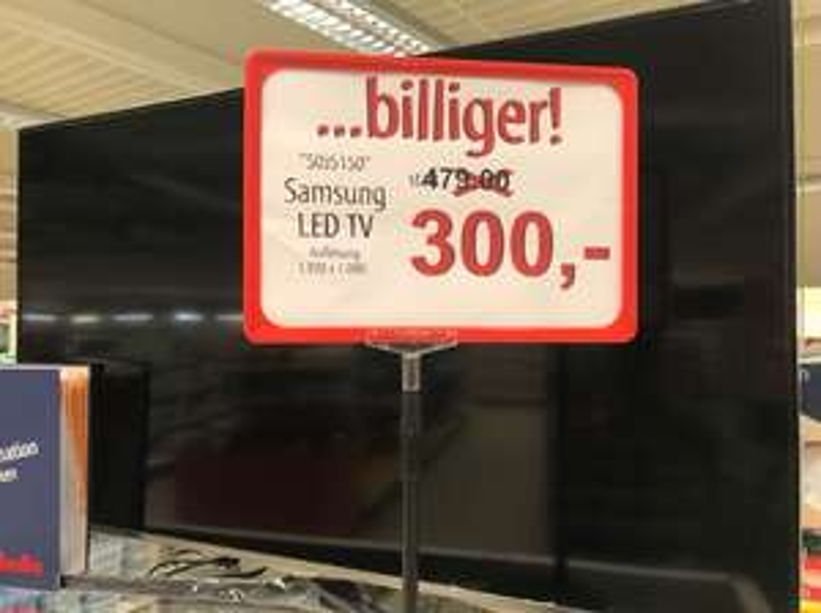 (Lokal Famila Pinneberg) Samsung J5150 125 cm (50 Zoll) Fernseher (Full HD, Triple Tuner)