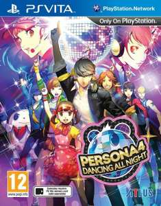 Persona 4: Dancing All Night (PsVita)