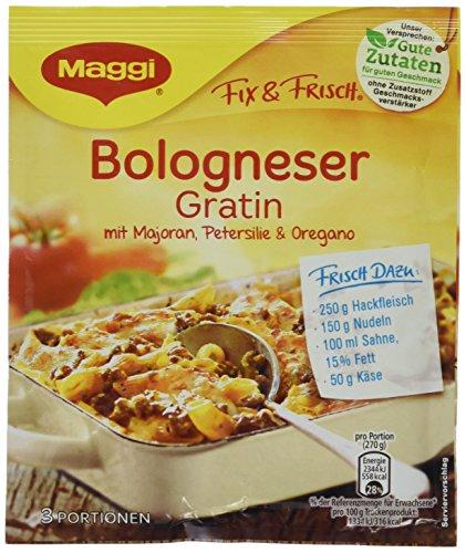 36x Maggi Fix Bologneser Gratin für nur 8,97 EUR [0,25 EUR je Packung]