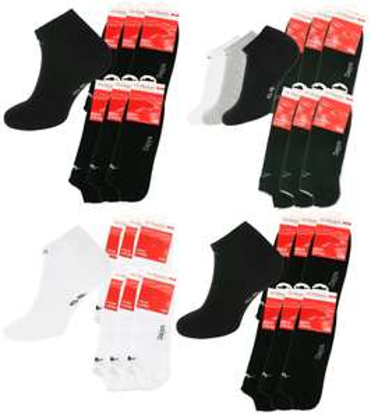 Sneaker-Socken 18 Paar Kappa