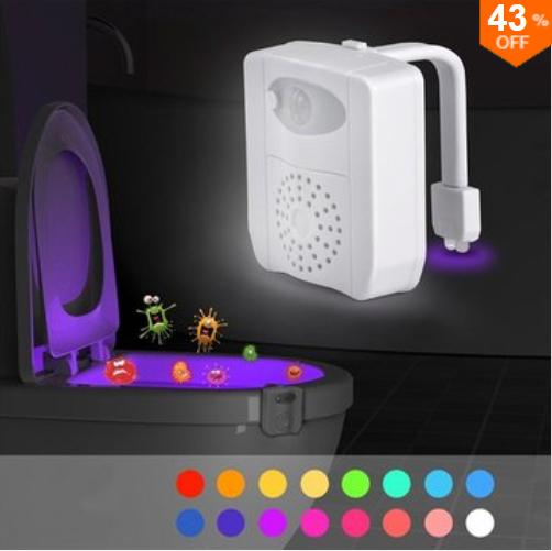 LED WC-Nachtlicht mit Bewegungssensor & UV Sterilisator