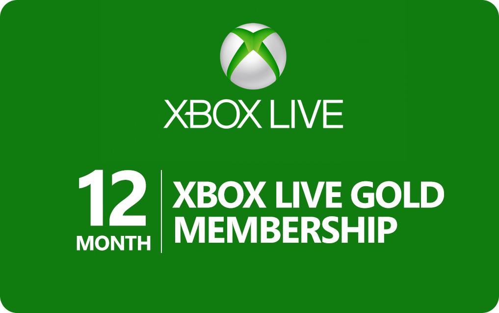 Xbox Live Gold - 12 Monate (nur über Konsole)