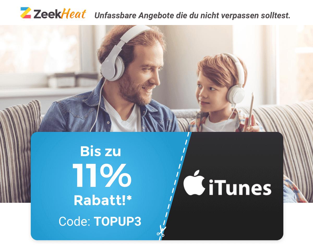 [Zeek] reduzierte Geschenkkarten, zusätlich 3€ + 3€ + 6€