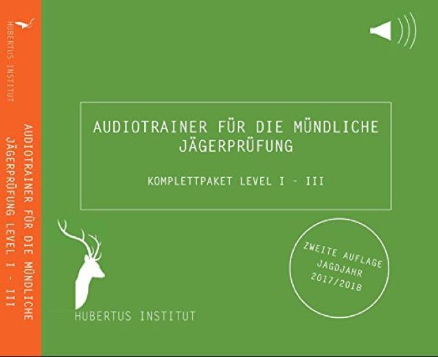 Hubertus Institut - Audiotrainer für die mündliche Jägerprüfung (Komplettpaket Level I, II & III) - Amazon Blitzdeal