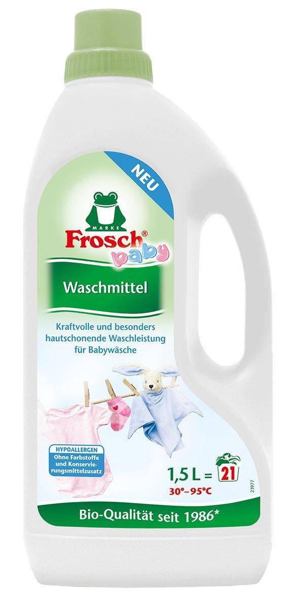 [AMAZON Plusprodukt] FROSCH Baby - Waschmittel, 5er Pack