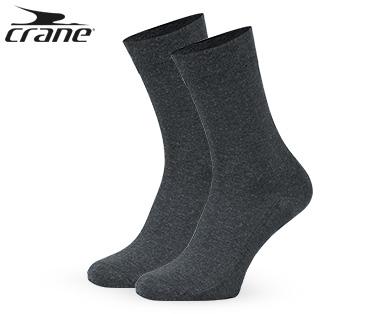 crane® Wellness-Socken 98% Baumwolle, 2 Paar Aldi Süd