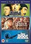 3 Kriegsfilme als DVD-Set: Die Brücke am Kwai/Die Kanonen von Navarone/Das Boot @play.com