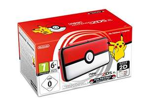 Nintendo New 2DS XL Pokeball Edition für 123,34€ (Amazon)